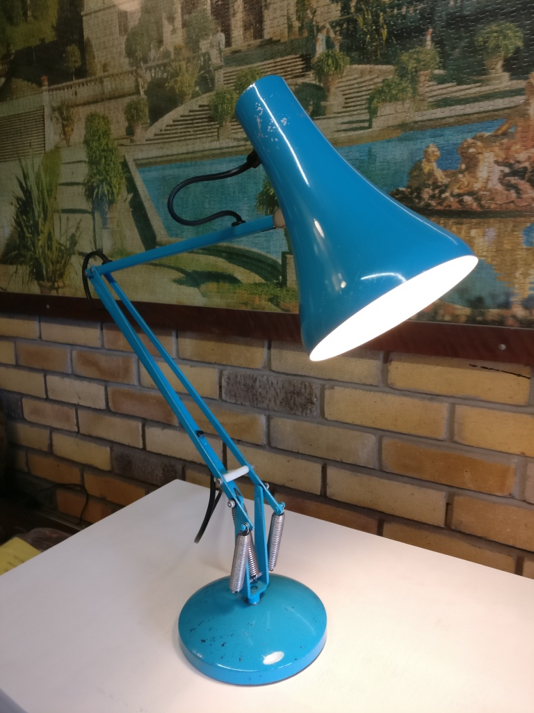 Anglepoise lamp rewire Original Early